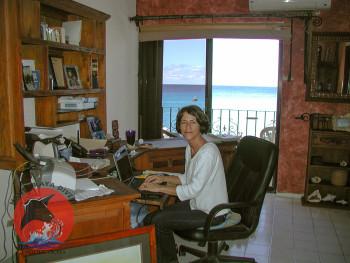 Kelley at Office