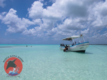 Beach Stop during Manta Raya Divers Snorkel Tour
